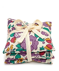Flowers Of Liberty Betsy Liberty Print Lavender Bags