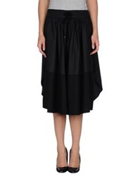 Edun 3 4 Length Skirts Black