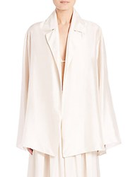 The Row Moos Oversized Blazer Old Lace