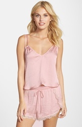 Band Of Gypsies Double Strap Cami Dusty Pink