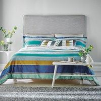 Harlequin Kaledio Duvet Cover Marine Super King