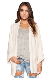 Wildfox Couture Basic Cardigan Beige
