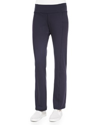 Eileen Fisher Stretch Jersey Yoga Pants Petite