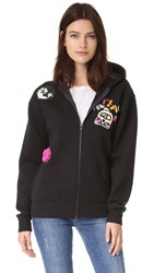 Michaela Buerger Just Smile Hooded Jacket Black