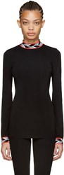 Emilio Pucci Black Iconic Turtleneck
