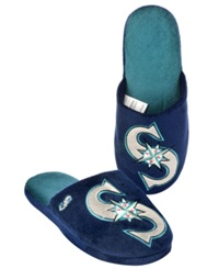 Forever Collectibles Men's Seattle Mariners Big Logo Slippers