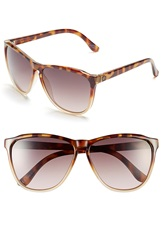 Electric Eyewear 'Encelia' 66Mm Retro Sunglasses Tortoise Nude Fade Gradient