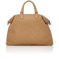 Bottega Veneta Women's Intrecciato Medium Convertible Tote Tan