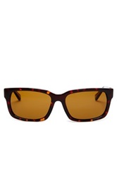 Cole Haan Men's Rectangle Sunglasses Brown