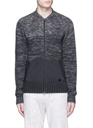 Adidas X Wings Horns Ombre Merino Wool Cotton Track Jacket Black