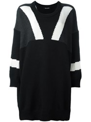 Neil Barrett Loose Fit Sweater Black