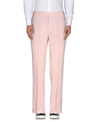 Tombolini Trousers Casual Trousers Men Light Pink