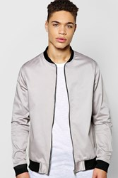 Smart Cotton Sateen Bomber