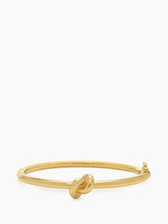 Kate Spade Sailor's Knot Hinge Bangle Gold