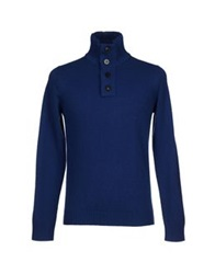 Kangra Cashmere Turtlenecks Blue
