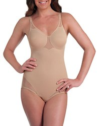 Miraclesuit Sexy Sheer Shaping Bodybriefer Cupid Nude