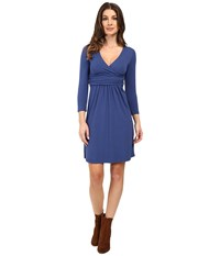 Mod O Doc Cotton Modal Spandex Jersey Surplice Banded Empire Dress Bluestone Women's Dress