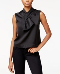 Rachel Roy Sleeveless Bow Top Only At Macy's Black