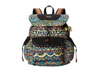 Sakroots Artist Circle Flap Backpack Radiant One World Backpack Bags Multi