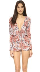 Raga Sunset Gold Romper Multi