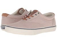 Sperry Striper Chambray Khaki Men's Lace Up Casual Shoes