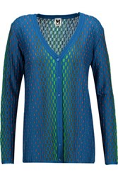 M Missoni Textured Knit Cardigan Multi