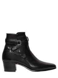 Saint Laurent 40Mm Blake Smooth Leather Boots