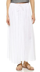 Rails Violet Maxi Skirt White