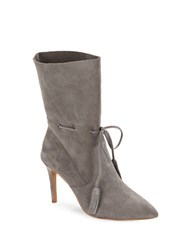 French Connection Rowdy Suede Ankle Booties Grey