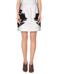 Cameo Skirts Mini Skirts Women Ivory