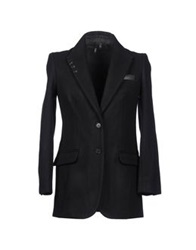 Edun Mid Length Jackets Black