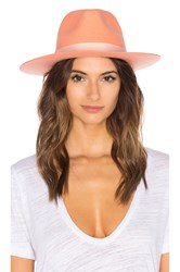 Lack Of Color Sunset Palms Wool Fedora Pink