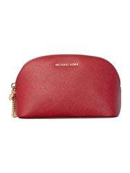Michael Kors Alex Red Cosmetic Bag Red