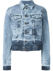 Diesel 'De Wild Np' Denim Jacket Blue