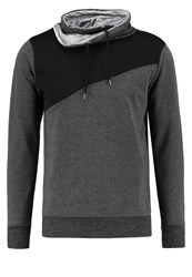 Ltb Liremo Sweatshirt Dark Grey Melange Mottled Dark Grey
