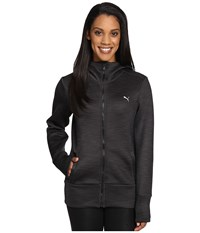 Puma Holiday Future Jacket Dark Gray Heather Women's Coat