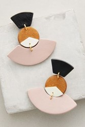 Anthropologie Fanned Drops Pink