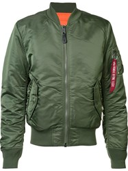 Alpha Industries 'Ma 1' Flight Jacket Green