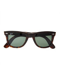 Ray Ban Wayfarer Sunglasses In Tortoise Brown