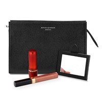 Aspinal Of London Cosmetic Case Black
