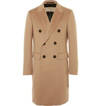 Burberry London Double Breasted Cashmere Coat Camel