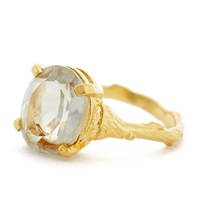 Chupi Drop In The Wild Ring With Prasiolite Gold