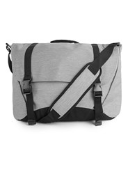 Topman Grey Melange Satchel Light Grey