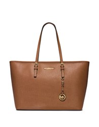 Michael Michael Kors Jet Set Leather Travel Tote Luggage