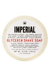Men's Imperial Barber Grade Products Glycerin Shave And Face Soap Puck