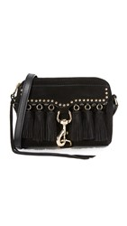 Rebecca Minkoff Multi Tassel Camera Bag Black