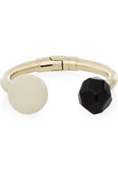 Etro Gold Plated Resin And Agate Cuff