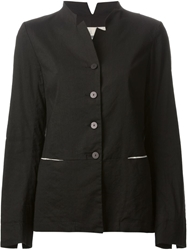 Kristensen Du Nord Stand Up Collar Jacket Black