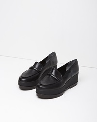 Robert Clergerie Yokolej Wedge Loafer Black