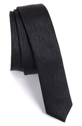 Men's The Kooples Ticking Stripe Silk Tie